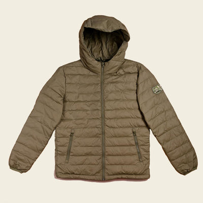 Down Jacket Light Olive