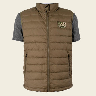 Down Vest Light Olive