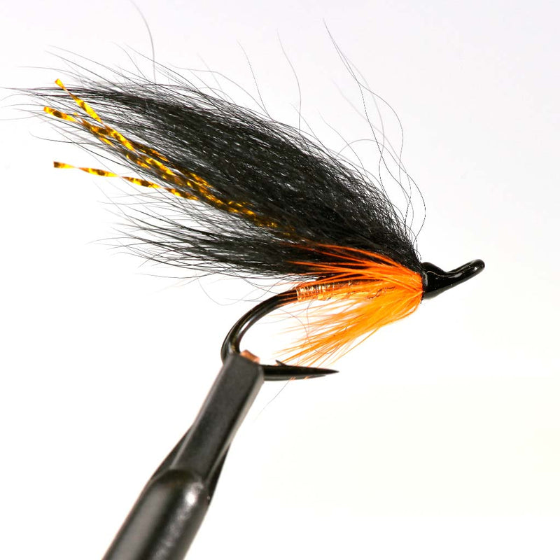 Yokanga Gold Fly Black Double Hook