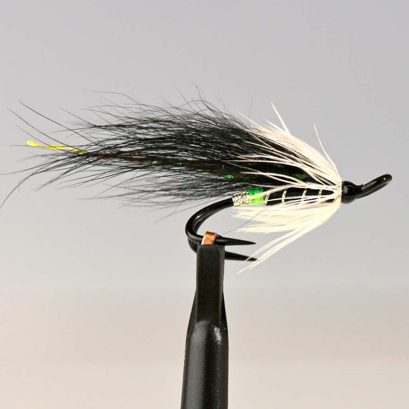 Ponoi Green Fly Black Double Hook