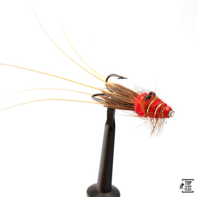 Black Eyed Prawn-Red copper tube