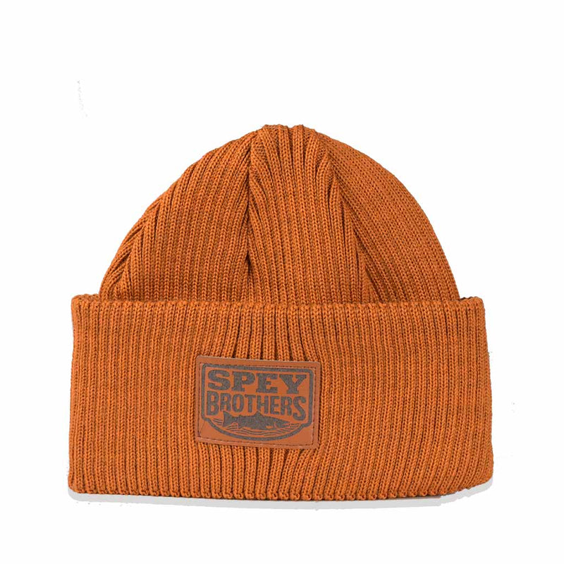 Merino Wool Hat Rusty Brown