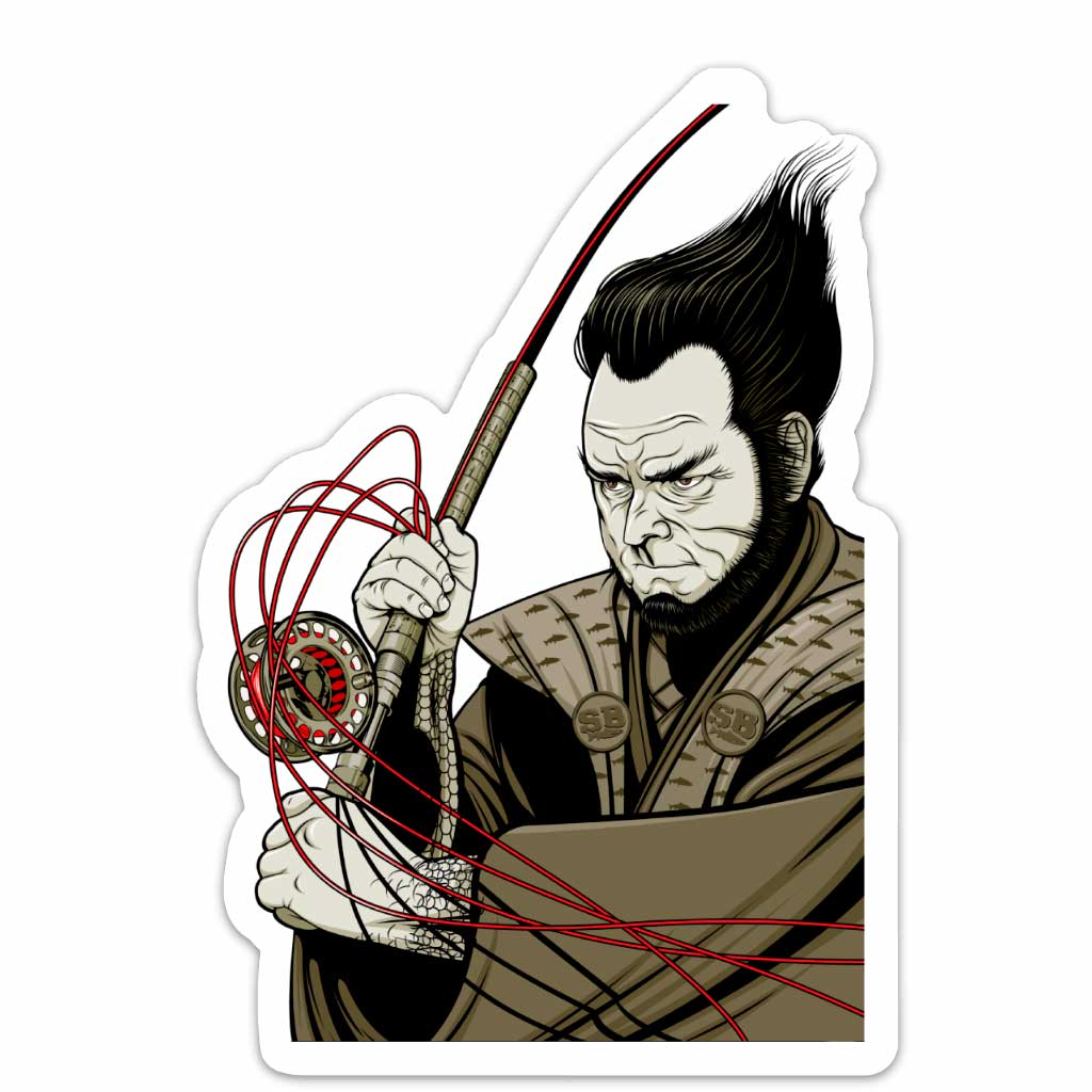 Samurai decal