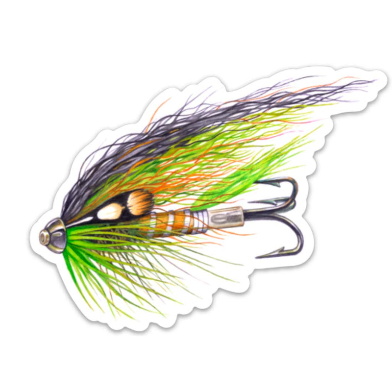 Tube Fly decal