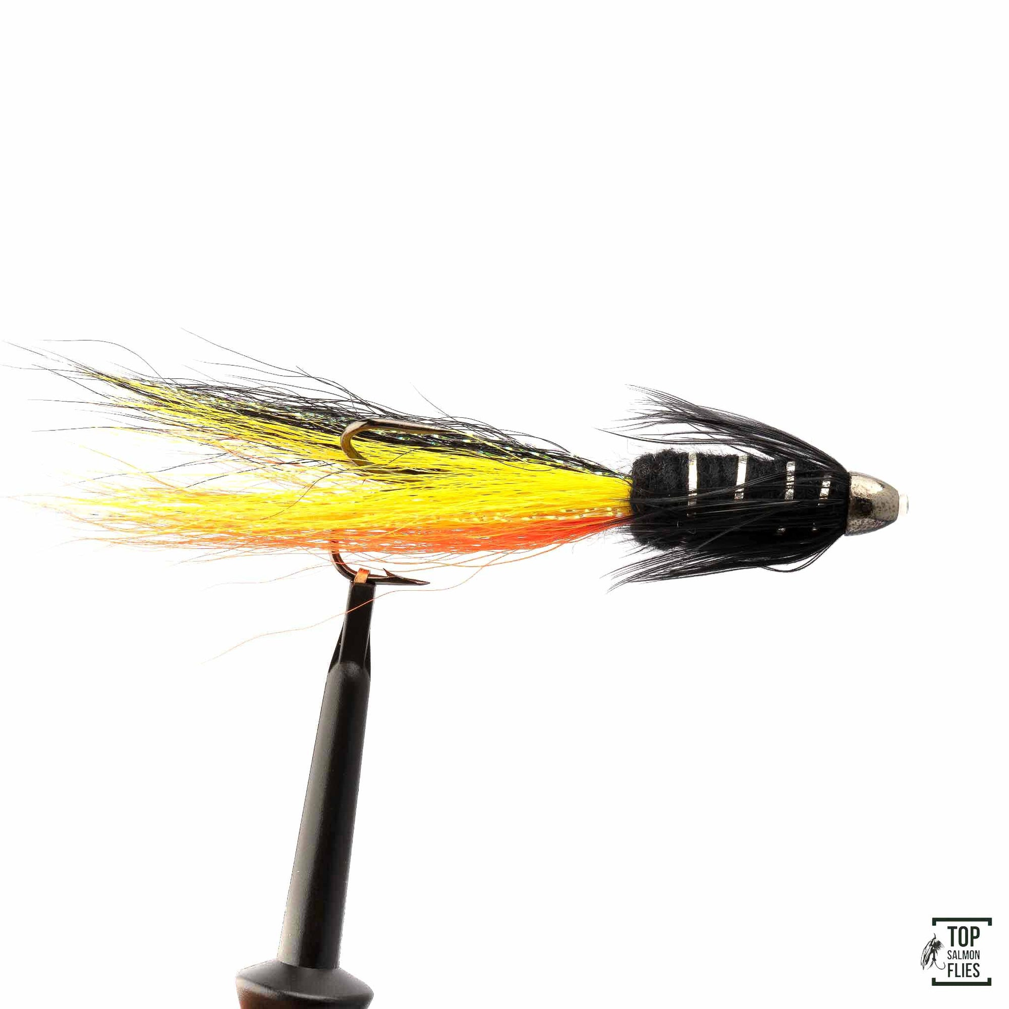Snaelda-Yellow/Orange/Black Tungsten Conehead