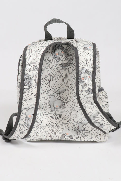 Cuddly Faces Expect-A-Spill Backpack