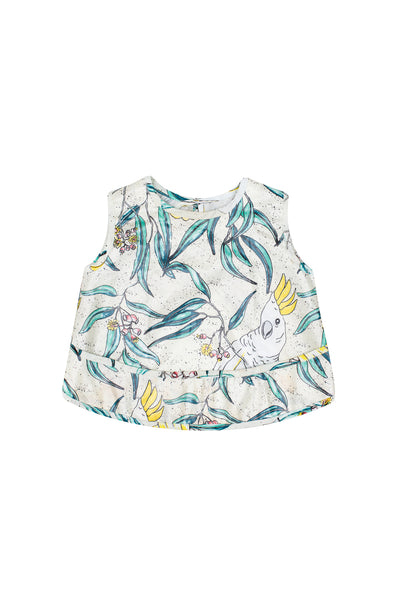 Cockatoo Sleeveless Smock
