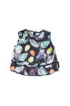 Crystals Sleeveless Smock