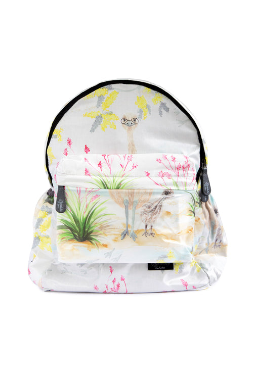 Cheeky Emu Expect-A-Spill Backpack (was $74)