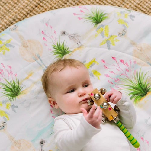 Cheeky Emu Baby Play Mat, Indoors & Outdoors - Marmalade Lion