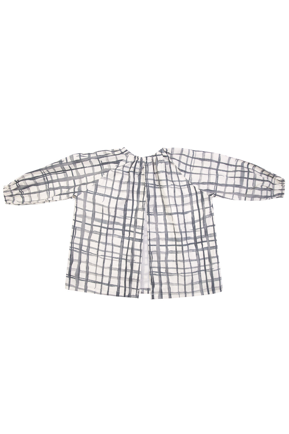 Swedish Check Art Smock