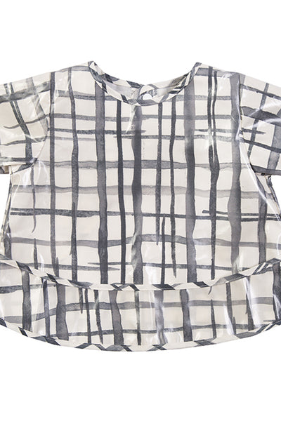 Swedish Check Long Sleeve Smock (Pre Order Only)