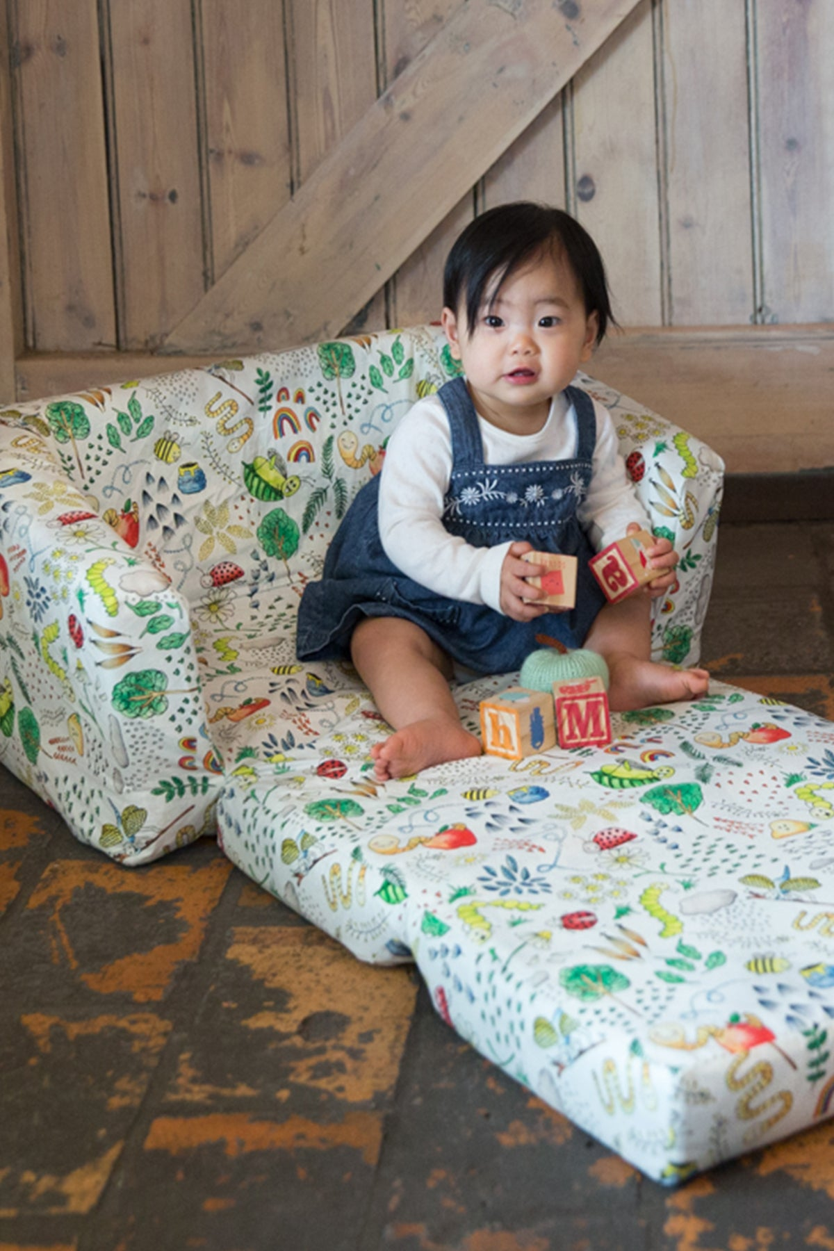 Little Creatures Toddler Couch Cover - Marmalade Lion