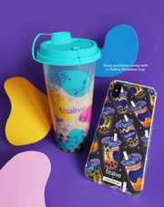 Everything Tealive & Tealive Strawless Cup - KLEARLUX™ Limited Edition Tealive x Casesbywf Phone Case