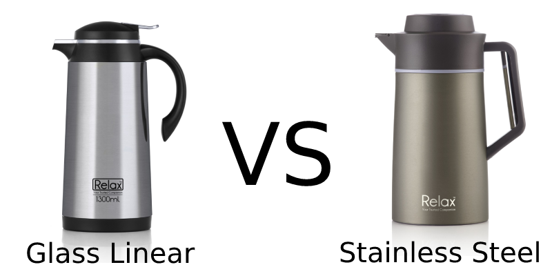 Glass Linear Thermal Carafe vs Thermal Carafe, Which Is Better