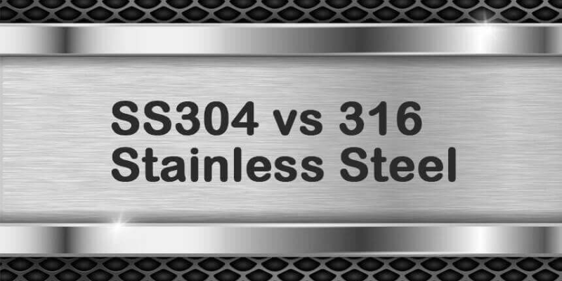 The Difference Between SUS304 And SUS316