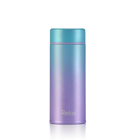 RELAX 250ML 18.8 STAINLESS STEEL THERMAL FLASK - PURPLE