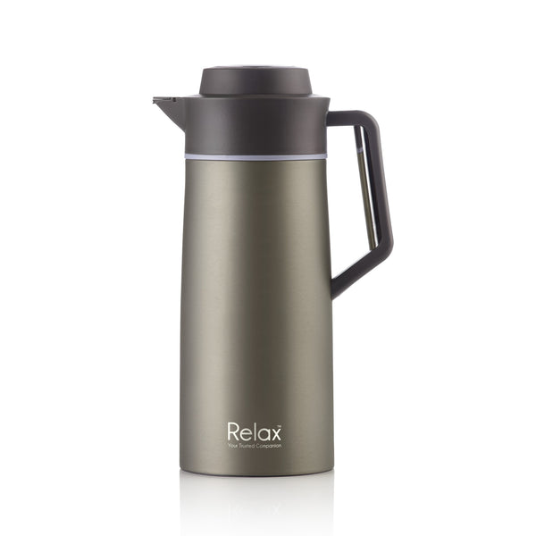 RELAX 2000ML 18.8 STAINLESS STEEL THERMAL CARAFE - CHAMPAGNE (D2800 SERIES)
