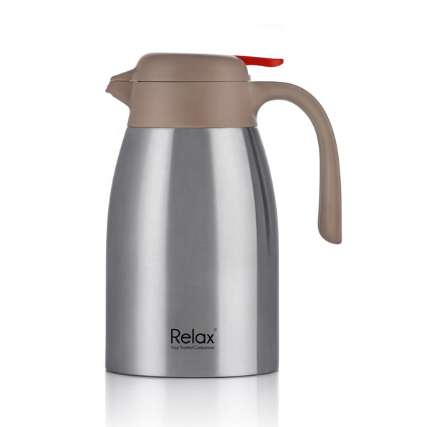 RELAX 1500ML 18.8 STAINLESS STEEL THERMAL CARAFE (D3200 SERIES)