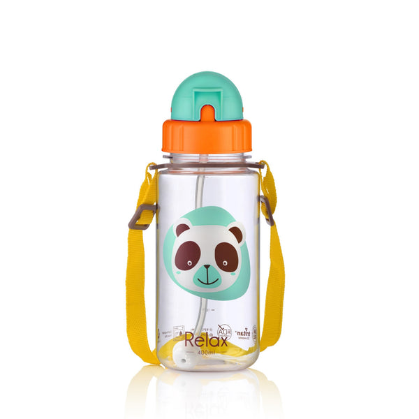 400ML RELAX TRITAN KIDS WATER BOTTLE - D7640 GREEN