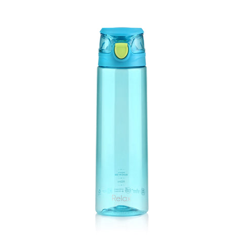 900ML RELAX TRITAN WATER BOTTLE  - D7809 CYAN