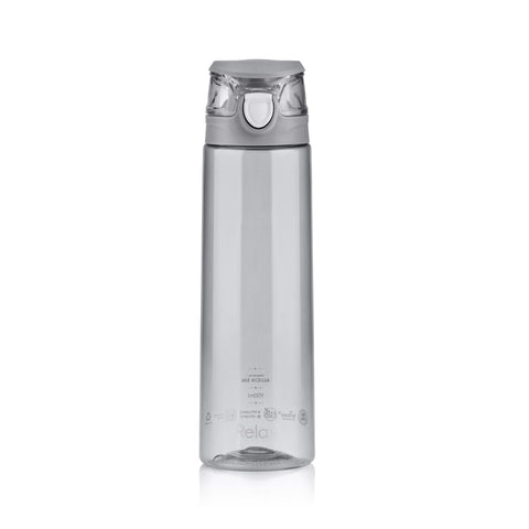 900ML RELAX TRITAN WATER BOTTLE  - D7809 GREY