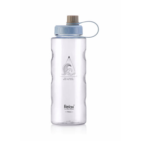 1900ML RELAX TRITAN WATER BOTTLE  - D8119 LIGHT BLUE
