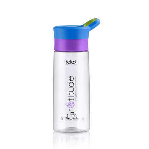 600ML RELAX TRITAN WATER BOTTLE - D8260 BLUE