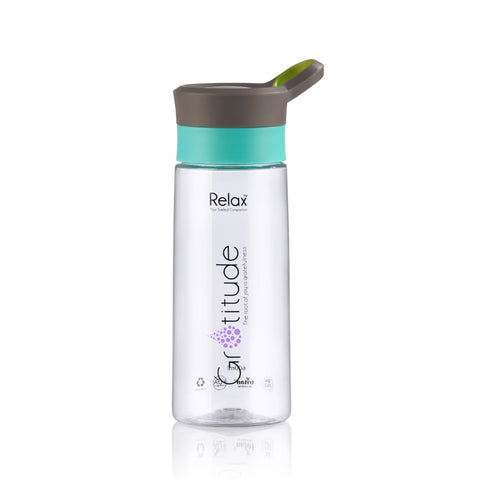 600ML RELAX TRITAN WATER BOTTLE - D8260 BROWN