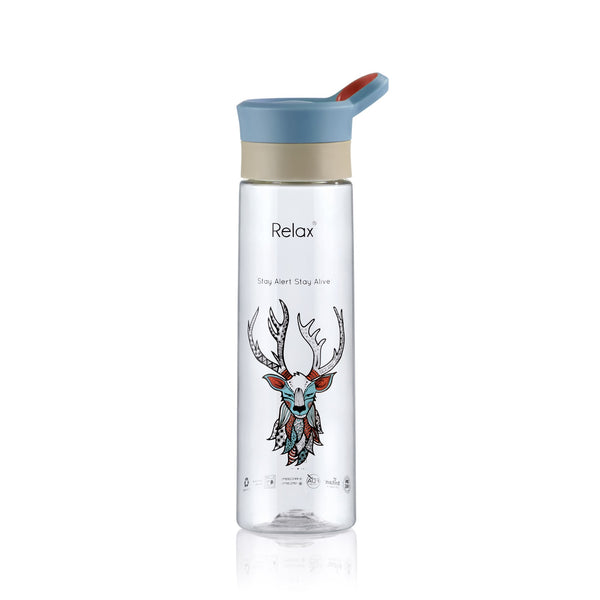 800ML RELAX TRITAN WATER BOTTLE - D8280 DEER