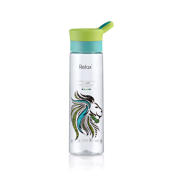 800ML RELAX TRITAN WATER BOTTLE - D8280 LION