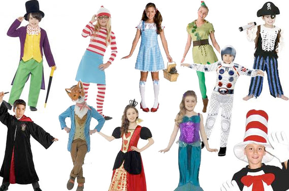 Children's Book Week Dress Up Costumes