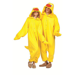 Funsie Animal Jumpsuit - Tub Time Ducky