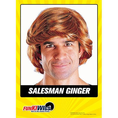 Mens Ginger Wig