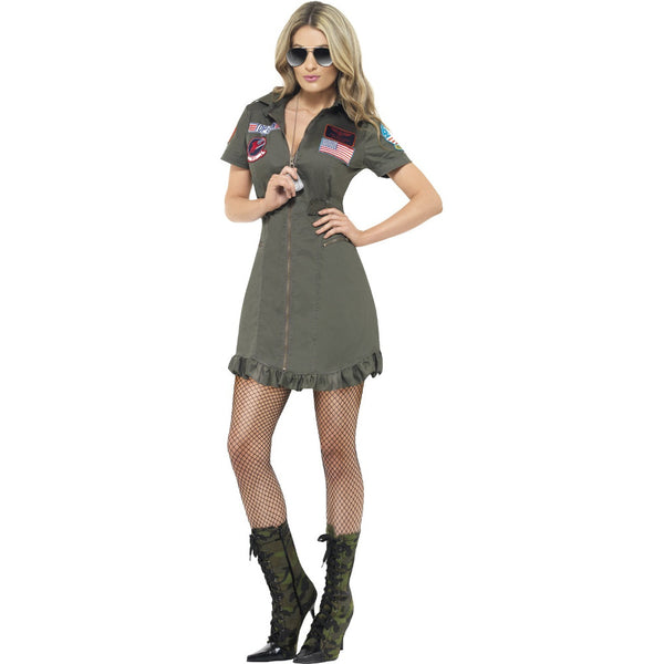 Top Gun Deluxe Ladies Costume