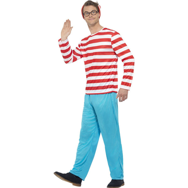 Where's Wally Costume-Male