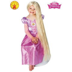 Childs 80cm Glow in the Dark Rapunzel Wig