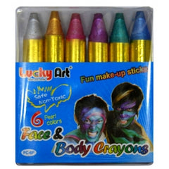 Face & Body Crayons - Pearl