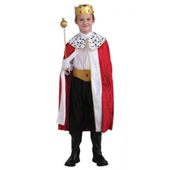 Boys Regal King Costume