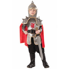 Medieval Silver Knight Childs Costume