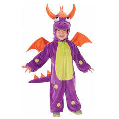 Toddler Purple Monster Costume