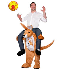 Kangaroo Piggy Back Costume - Adult