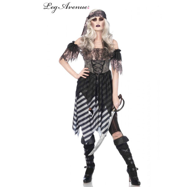 Ghost Pirate Lady Costume - Leg Avenue