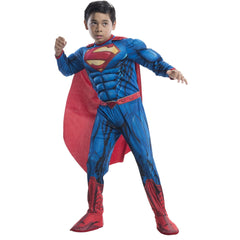 Superman Deluxe Digital Print Childs Costume