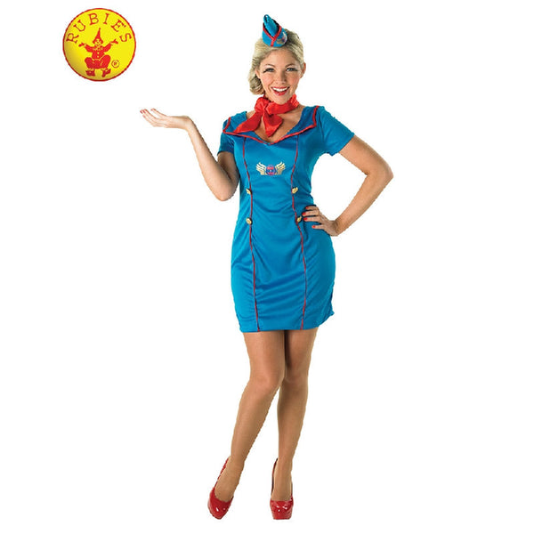 Air Hostess Costume-Adult