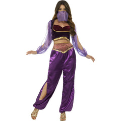 Arabian Princess Costume - Purple