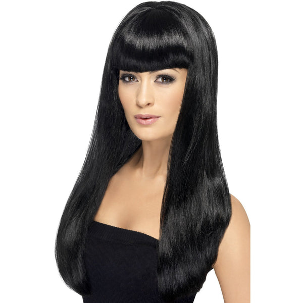 Black Long Straight Babelicious Wig