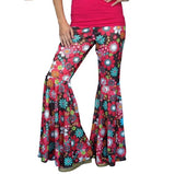 70's Hippie Bellbottom Pants - Dark
