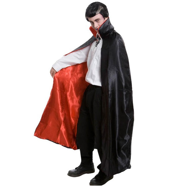 Cape Deluxe Black with Red Lining