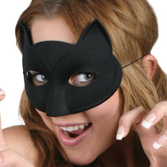 Black Cat Mask - No Whiskers